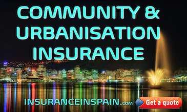 community insurance in spain for urbanisations