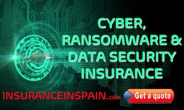 digital image of security lock for a computer offering Cyber insurance in Spain