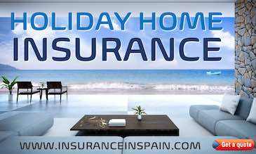 Villa on the beach depicting sunshine and happiness and promting holiday home insurance in Spain