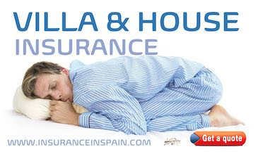 Man sleeping like a baby with villa and house insurance from www.insuranceinspain.com