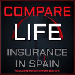 Compare life insurance in Spain in English
