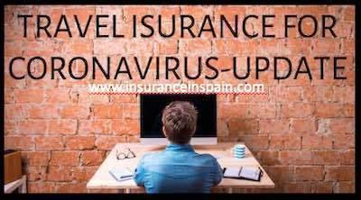Update for travel insurance that covers Coronavirus Covid 19